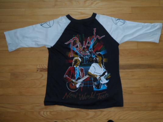 Vintage Rush 80's head shop T