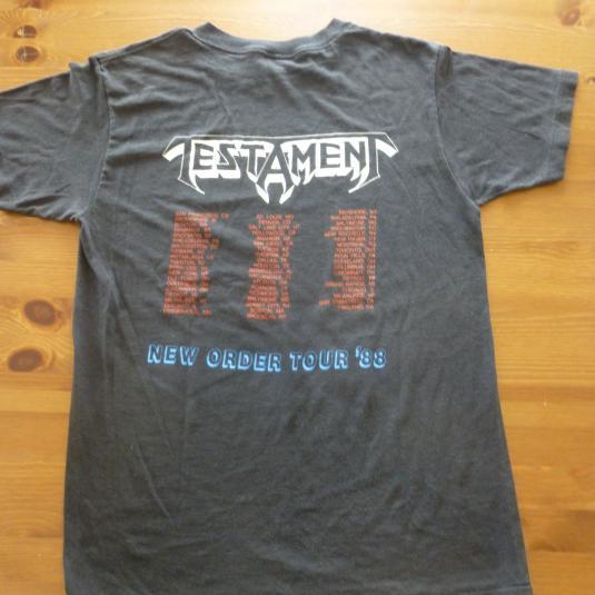 Testament 1988 Tour T