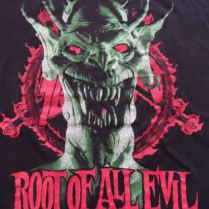 Slayer vintage tour shirt 1988