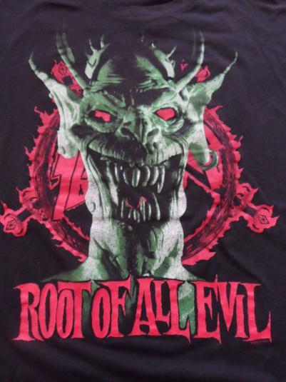 Slayer vintage tour shirt 1988