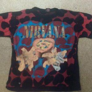 Nirvana Heart Shaped Box All over print shirt