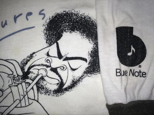 Donald Byrd Caricatures Blue Note