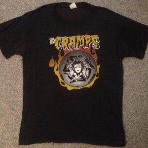 The Cramps Halloween '88 Tour Shirt