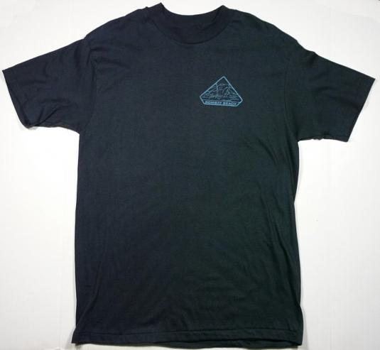 VINTAGE 80'S SCI-FI THE ABYSS JAMES CAMERON MOVIE T-SHIRT