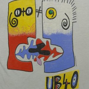 VINTAGE UB40 RAT IN THE KITCHEN 1986 THIN T-SHIRT