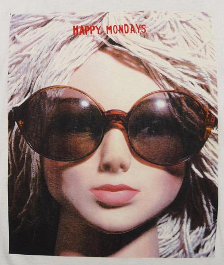 VINTAGE HAPPY MONDAYS 1991 LIVE T-SHIRT