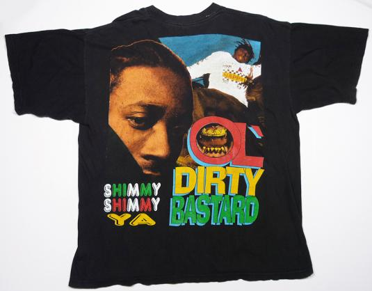 VINTAGE 1995 OL' DIRTY BASTARD ODB WU-TANG CLAN RAP HIP-HOP
