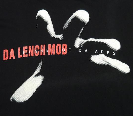 DA LENCH MOB PLANET OF DA APES HIP-HOP GANGSTA RAP T-SHIRT