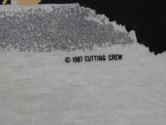 CUTTING CREW '87 TOUR JUST DIED IN YOUR ARMS TONIGHT T-SHIRT