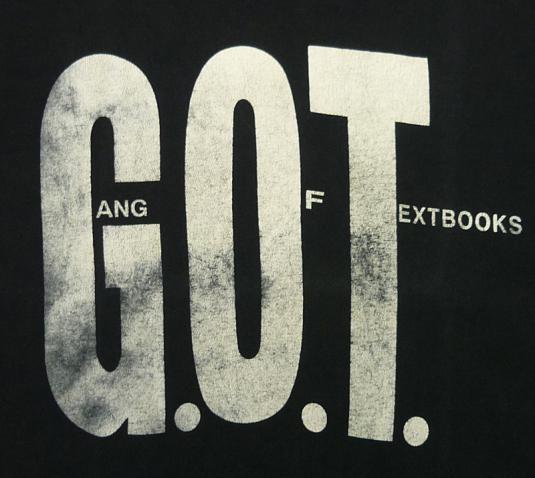 90'S GANG OF TEXTBOOKS UNDERGROUND HIP HOP RAP T-SHIRT