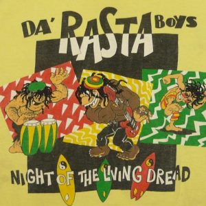 80'S RASTA BOYS T&C TOWN & COUNTRY SURF T-SHIRT