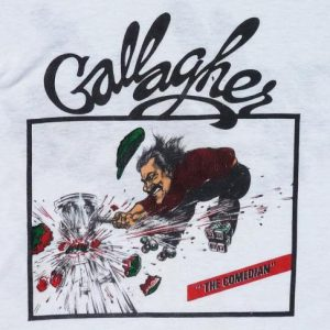 VINTAGE 80'S GALLAGHER THE COMEDIAN T-SHIRT