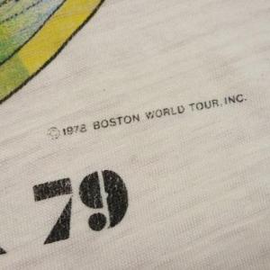 VINTAGE BOSTON WORLD TOUR 79 UFO T-SHIRT