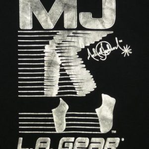 VINTAGE MICHAEL JACKSON L.A. GEAR MOON ROCKER T-SHIRT