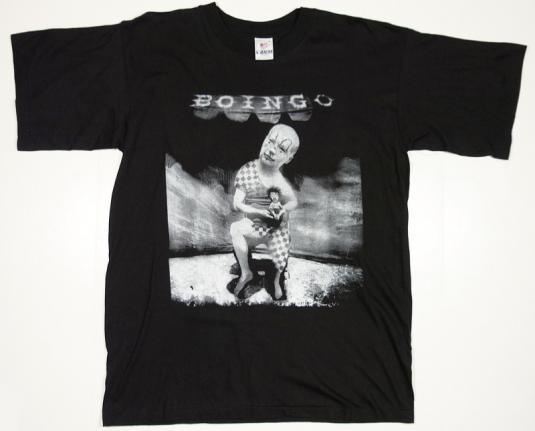 VINTAGE OINGO BOINGO 1994 CONCERT TOUR T-SHIRT