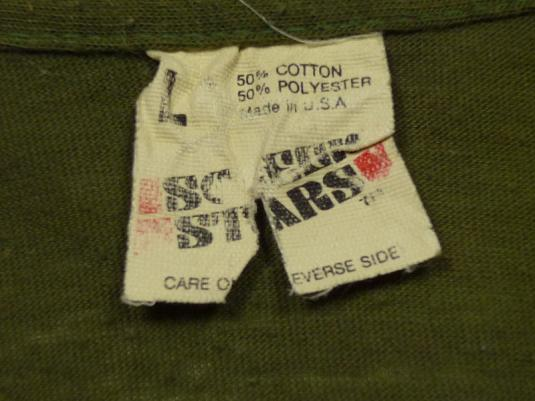 VINTAGE 80's SPECIAL FORCES US MARINES ARMY MILITARY T-SHIRT