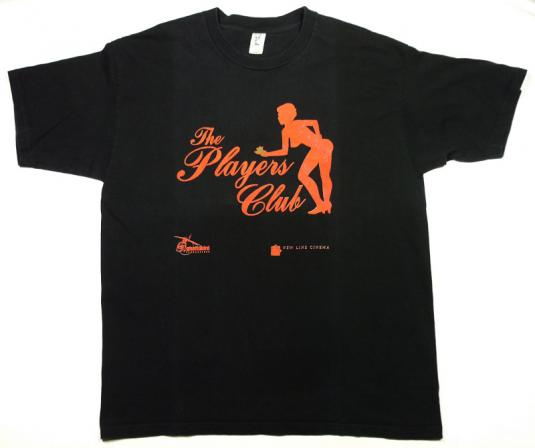 VINTAGE THE PLAYERS CLUB MOVIE HIP-HOP ICE CUBE T-SHIRT