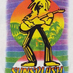 VINTAGE 1985 SUNSPLASH REGGAE USA CONCERT T-SHIRT