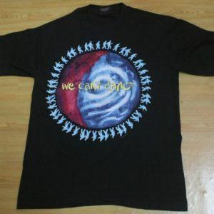 Vintage T-shirt Genesis We Can't Dance Unworn 1992