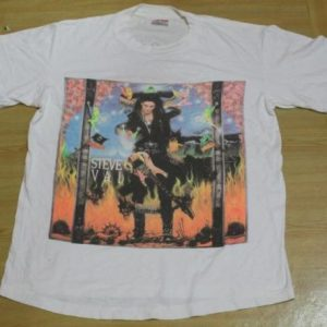 Vintage T-Shirt Steve Vai Passion and Warfare 1990