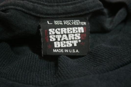 Vintage T-Shirt Long Sleeve Heavy Metal Sindrome Demo