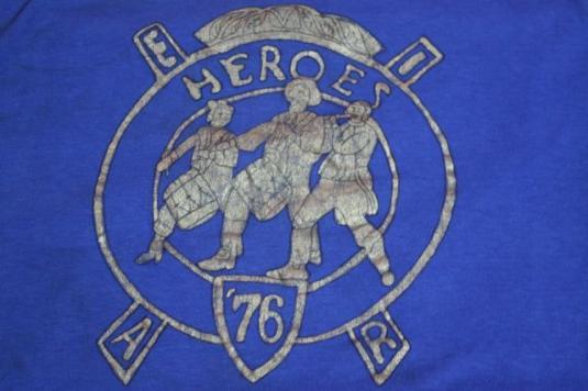 Vintage T-Shirt IEAR Masonic 1940s Heroes of '76