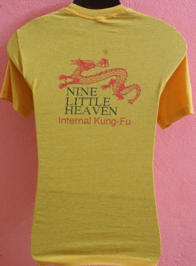 Vintage T-Shirt Nine Little Heaven Internal Kungfu 80s