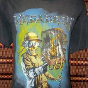 Vintage Tshirt Megadeth countdown to extinction 1993