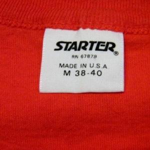 Vintage 80's 49ers San Francisco Forty Niners Starter Shirt