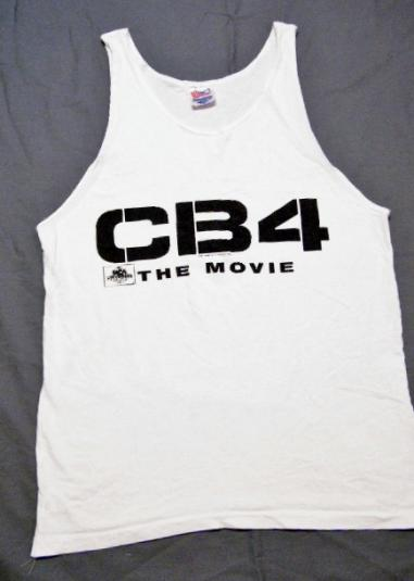 Vintage 1993 CB4 The Movie Cell Block 4 Tank Top T-Shirt