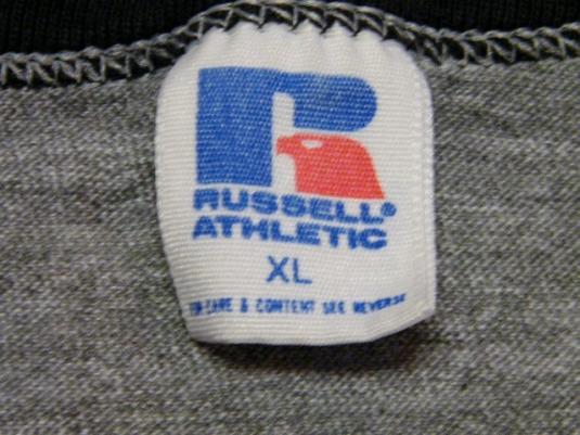 Vintage 80's National Pistol Championships OH Ringer T-Shirt
