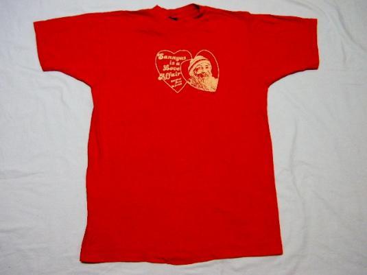Vintage 80's Bhagwan Shree Rajneesh Rajneeshpuram OR T-Shirt