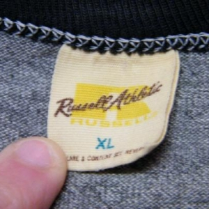 Vintage 70's BJ's Deli Neskowin OR. Rayon Ringer T-Shirt