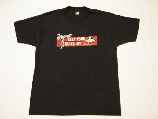 Vintage 80's Chuck Norris Century Karate Equipment T-Shirt