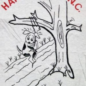Vintage 70's Legend of Hanging Dog in Murphy, NC T-Shirt