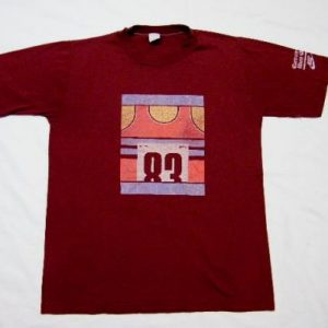 Vintage 1983 Nike Cascade Run Off Running Race T-Shirt