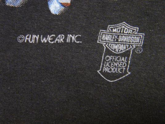 Vintage 80's Harley Davidson Screamin Eagle Lands T-Shirt