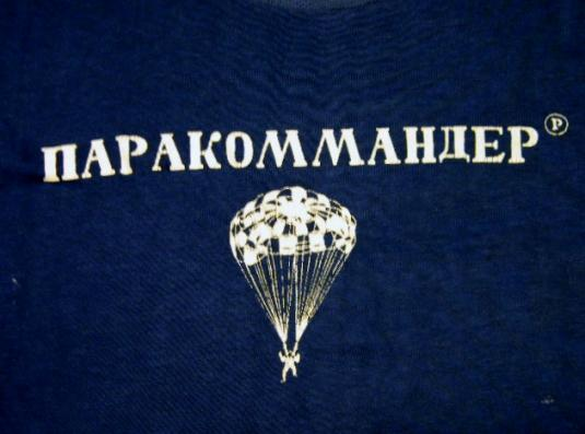 Vintage 70's Champion Blue Bar Parachute T-Shirt