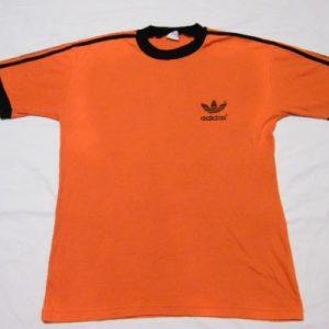 Vintage 1980 Adidas Trefoil Providence Fun Run T-Shirt