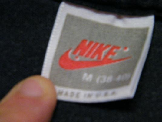 Vintage 1989 Nike Cascade Run Off Running Race T-Shirt