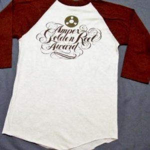 Vintage 80's Ampex Golden Reel Music Award Jersey T-Shirt
