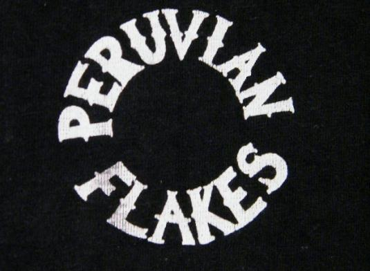 Vintage 1970's The Peruvian Flakes T-Shirt