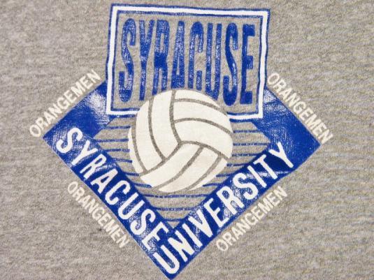 Vintage Syracuse University Champion Rayon Tank Top Shirt