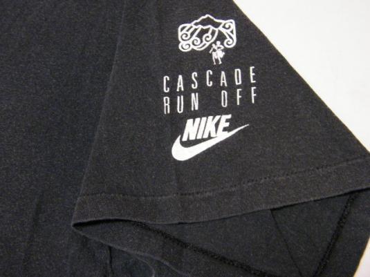 Vintage Nike 1988 Cascade Run Off OFFICIAL Race T-Shirt