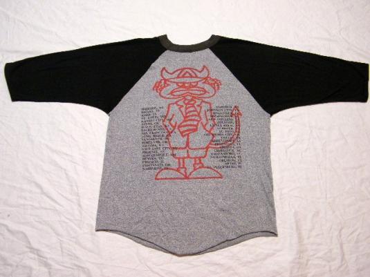 Vintage AC/DC Razors Edge Rock Concert Tour Jersey T-Shirt