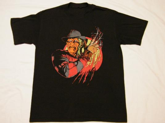 Vintage Nightmare on Elm Street Freddy Krueger Movie T-Shirt