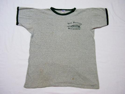 Vintage Champion Blue Bar High School Wrestling T-Shirt