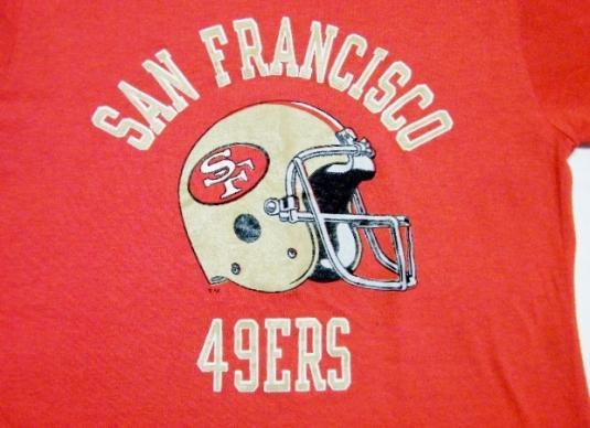 Vintage 80's 49ers San Francisco Forty Niners T-Shirt