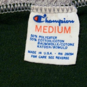 Vintage 80's Green Bay Packers Football T-Shirt Champion