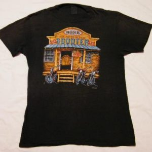 Vintage 1986 3D Emblem Sturgis Black Hills Motorcycle Shirt